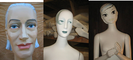 Whimsical Mannequins from Ralph Pucci International