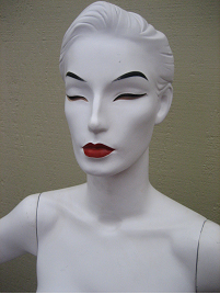 Abstract Mannequin designed by Andree Putnam for Ralph Pucci