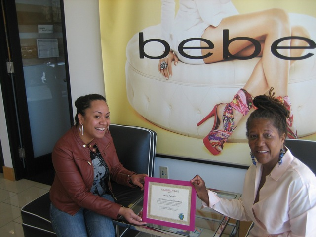 Bebe receives environmental excellence award from mannequin madness