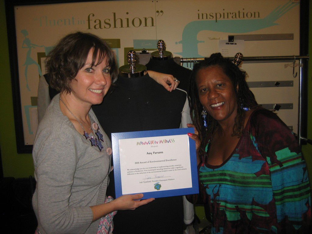 Nordstrom receives Environmental Excellence Award from Mannequin Madness