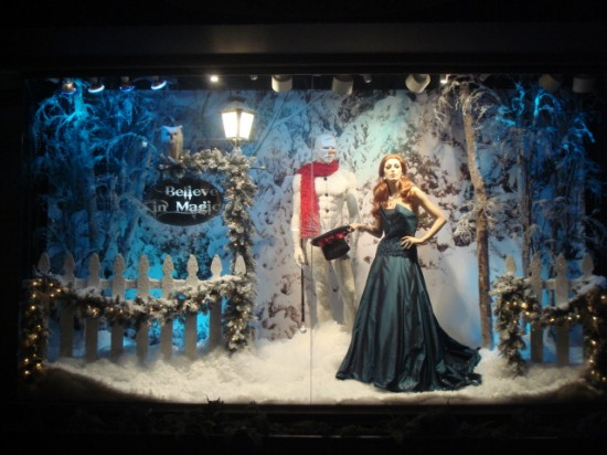 Holiday Window Display by Keith Dillion