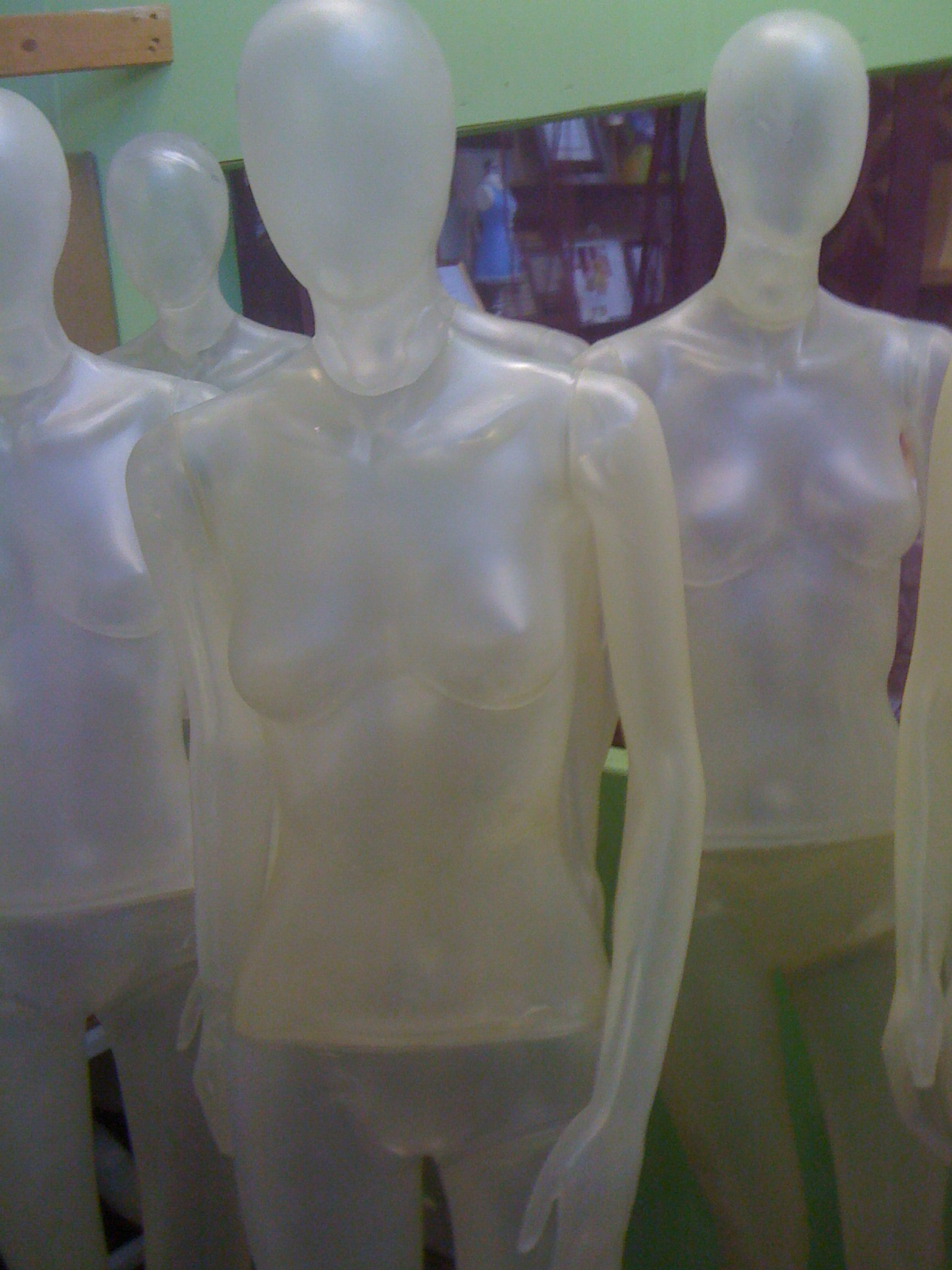 Ihram Kids For Sale Dubai: Gently Used Clear Mannequins For Sale