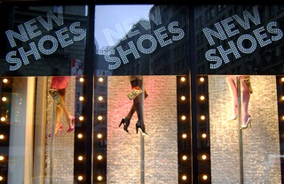 Pole- Dancing Mannequin Legs selling shoes