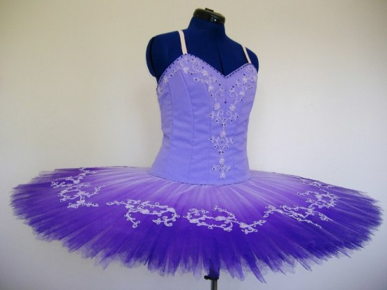 Tutu on a Dress Form at the Costume Creations, UK Studio