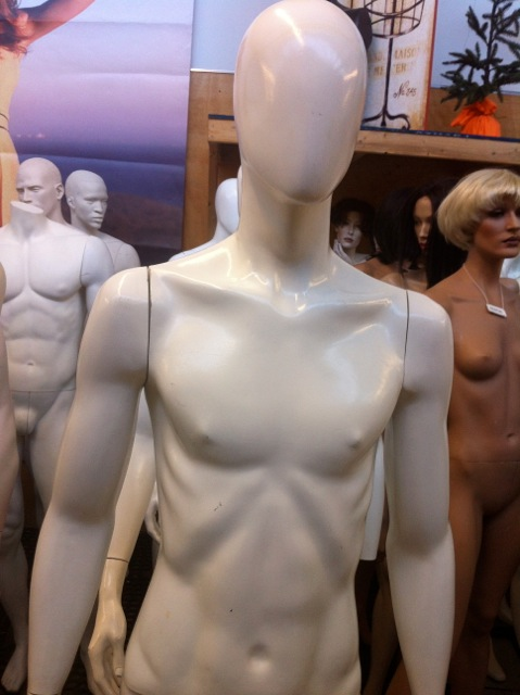Rootstein mannequins at Mannequin Madness
