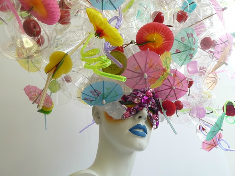 Mannequin Head piece created by Zoe Bradley