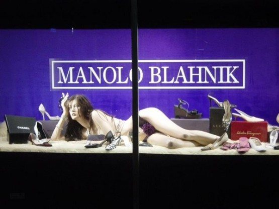 attention grabbing window displays