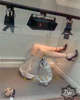 Lanvin Window Display