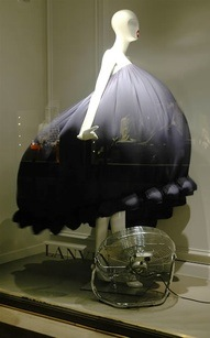 Lanvin summer window display