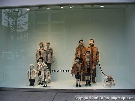 a display Designing gay window
