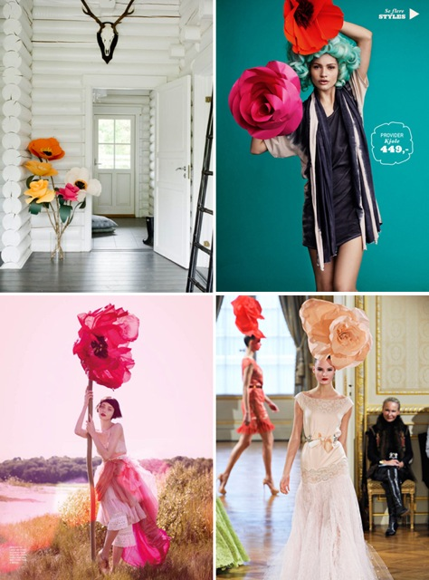10 ways to create wow in your windows with oversized paper flowers and giant paper flowers are a perfect high impact budget friendly display for a retail window display mightylinksfo