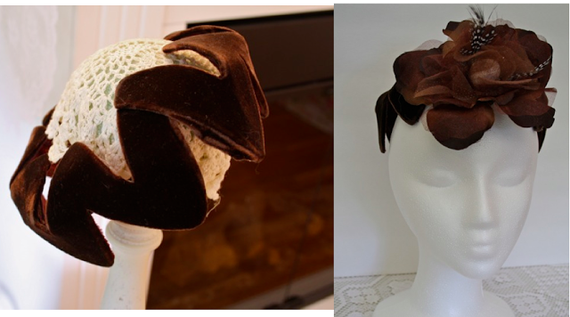 Use faux flowers and attach them to your vintage hats to give them new life. 2a02be97348
