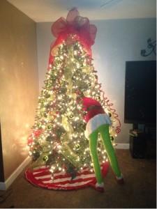 Deco Mesh Christmas Tree Form
