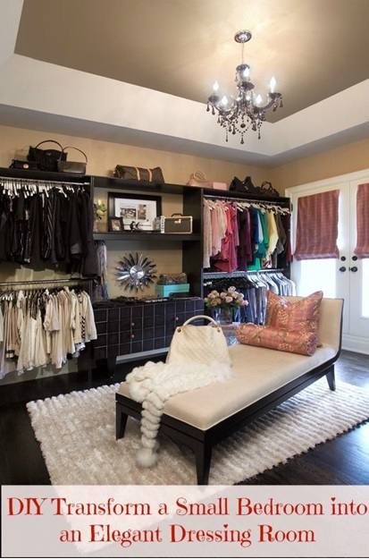 How To Turn Your Closet Into A Celebrity Style Dressing Room Part 2