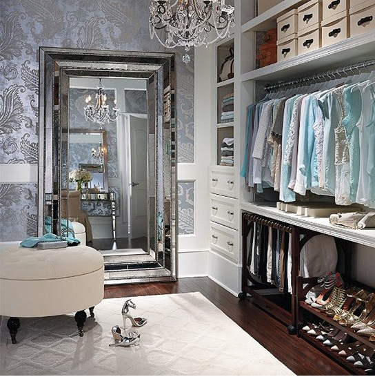 How To Turn Your Closet Into A Celebrity Style Dressing Room