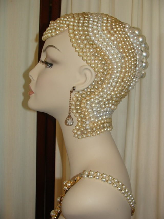 Art Deco Inspired Mannequin Heads For Sale