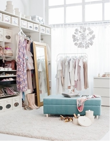 How To Turn Your Closet Into A Celebrity Style Dressing Room Part 1