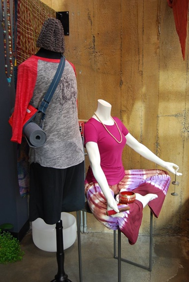 Yoga Mannequin that Sells More than Apparell