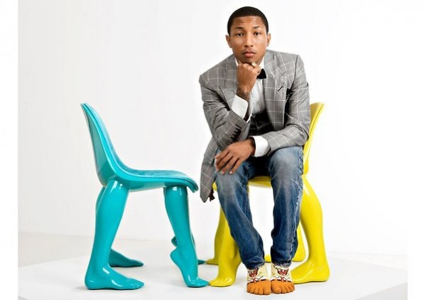 Look who designed chairs with mannequin legs pharrell williams - Pharrell williams design ...