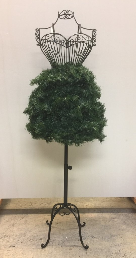 The 10 Best Dress Form Christmas Trees on a Wire Dress form