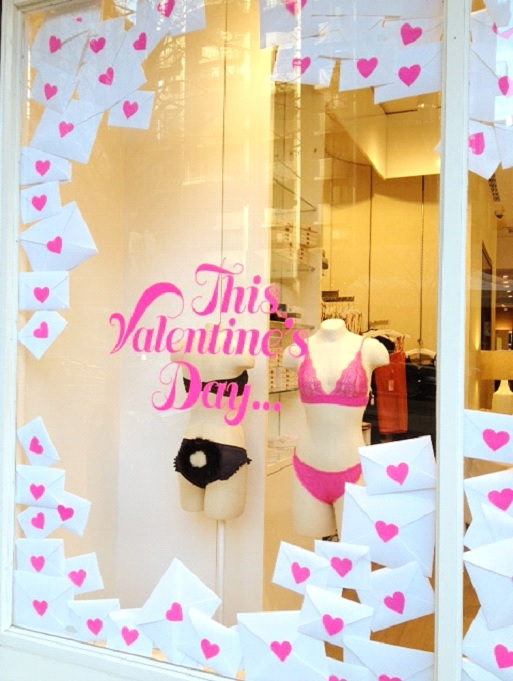 Five Non Traditional Valentine S Window Displays