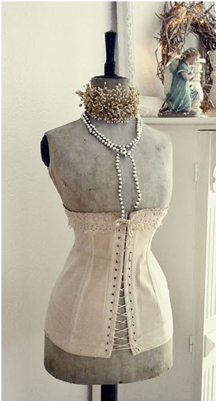 Like Vintage Corsets Here Is A Way To Enjoy Them Without Wearing Them