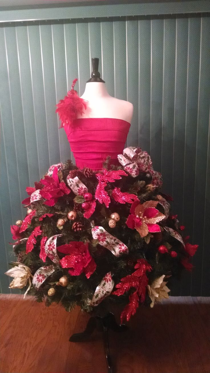 christmas tree dress form tutorials for crafters of all levels